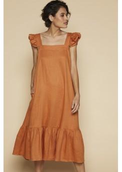 Mystic Maxi Dress - Rust
